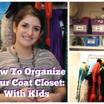 howto organizecoat closet