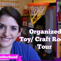 organized toycraft room tour