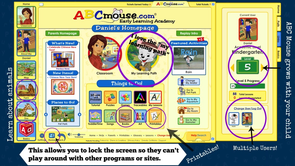 ABC Mouse review | Moms Simple Life